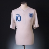 2010-11 England Home Shirt Rooney #10 L