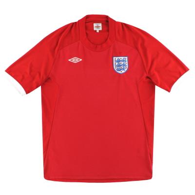 2010-11 England Umbro Away Shirt XXL