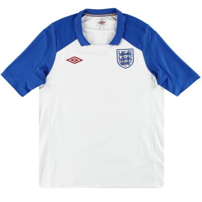 2010-11 England Umbro Training Shirt M