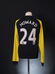 2010-11 Everton Goalkeeper Shirt Howard #24 L
