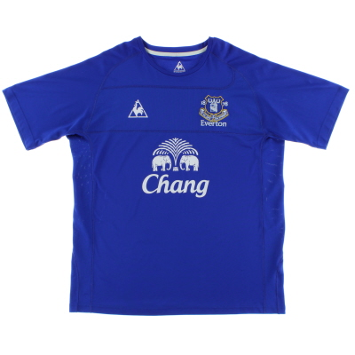 2010-11 Everton Home Shirt L