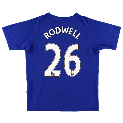 2010-11 Everton Home Shirt Rodwell #26 L