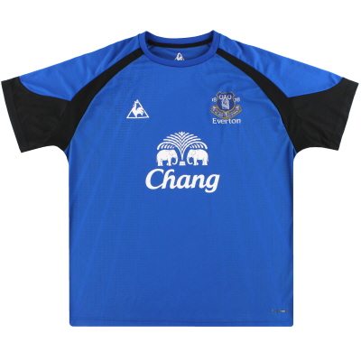 2010-11 Everton Le Coq Sportif Training Shirt XL