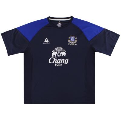 2010-11 Everton Le Coq Sportif Training Shirt XXL