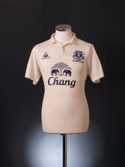 2010-11 Everton Third Shirt XXL