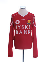 2010-11 FC Nordsjaelland Home Shirt L/S *Mint* XL