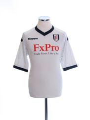 2010-11 Fulham Home Shirt L