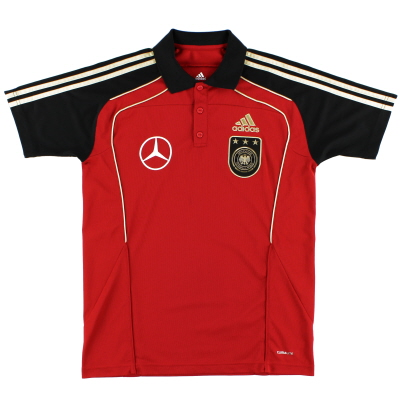 2010-11 Germany adidas Polo Shirt M