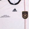 2010-11 Germany Home Shirt 'Deutschland - Australien' L