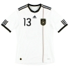 2010-11 Germany Home Shirt Muller #13 M