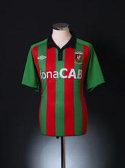 2010-11 Glentoran FC Home Shirt M