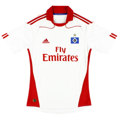 2010-11 Hamburg Home Shirt Y
