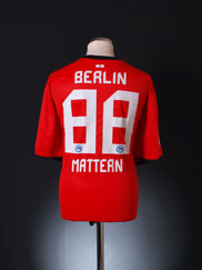 2010-11 Hertha Berlin Away Shirt Mattern #88 XXXL