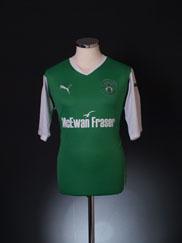 2010-11 Hibernian Home Shirt M