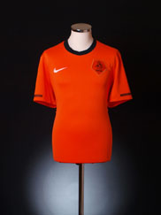 2010-11 Holland Home Shirt L.Boys