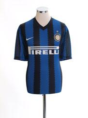 2010-11 Inter Milan Basic Home Shirt XL