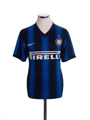 2010-11 Inter Milan Home Shirt S