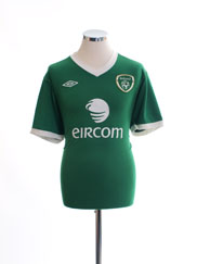 2010-11 Ireland Home Shirt *BNIB* L