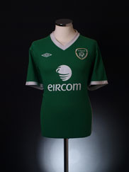 2010-11 Ireland Home Shirt L