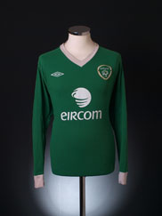 2010-11 Ireland Home Shirt L/S XL