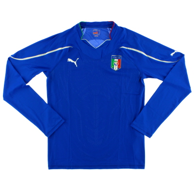 2010-11 Italy Home Shirt L/S *BNIB* XL