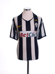 2010-11 Juventus Home Shirt L