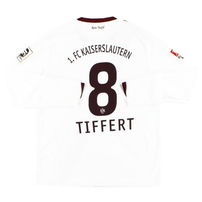 2010-11 Kaiserslautern Away Shirt Tiffert #8 L/S *Mint* XL
