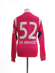 2010-11 Kasimpasa Match Issue Third Shirt Isa Kaykun #52 L/S M