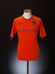 2010-11 Linfield Away Shirt L