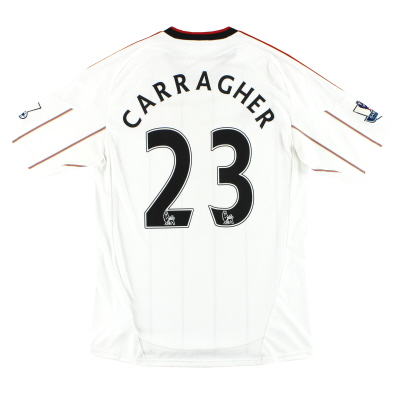 2010-11 Liverpool adidas Away Shirt Carragher #23 M