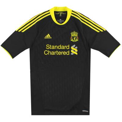 2010-11 Liverpool adidas TechFit Third Shirt XL
