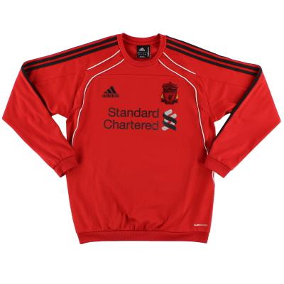 2010-11 Liverpool adidas Training Sweatshirt *Mint* M