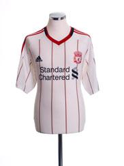 2010-11 Liverpool Away Shirt M