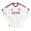 2010-11 Liverpool Away Shirt Carroll #9 L/S M