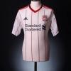 2010-11 Liverpool Away Shirt Gerrard #8 XXL