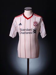 2010-11 Liverpool Away Shirt XL