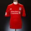 2010-11 Liverpool Home Shirt Torres #9 M
