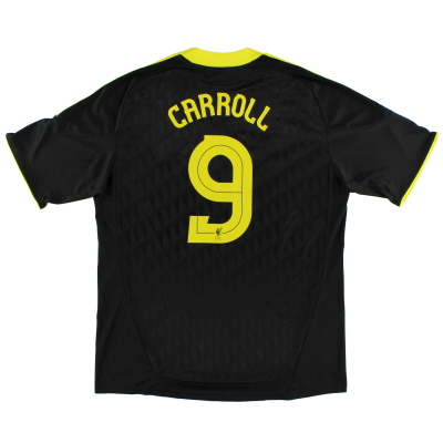 2010-11 Liverpool Third Shirt Carroll #9 XL