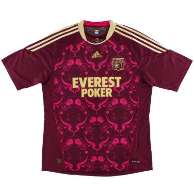 2010-11 Lyon adidas Away Shirt *Mint* XL