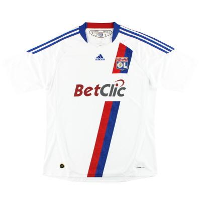 2010-11 Lyon adidas Home Shirt XL