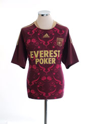 2010-11 Lyon Away Shirt M