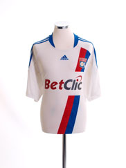 2010-11 Lyon Home Shirt XL