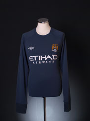 2010-11 Manchester City Umbro Training Sweat Top L/S XL
