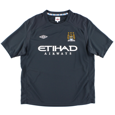 2010-11 Manchester City Umbro Training Shirt XL