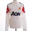 2010-11 Manchester United Away Shirt Chicharito #14 L/S M