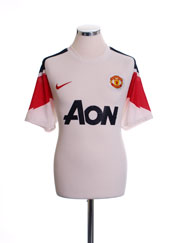 2010-11 Manchester United Away Shirt M