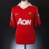 2010-11 Manchester United Home Shirt Scholes #18 XXL