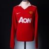 2010-11 Manchester United Home Shirt Chicharito #14 L/S L