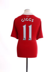2010-11 Manchester United Home Shirt Giggs #11 L