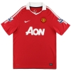 2010-11 Manchester United Nike Home Shirt Giggs #11 L